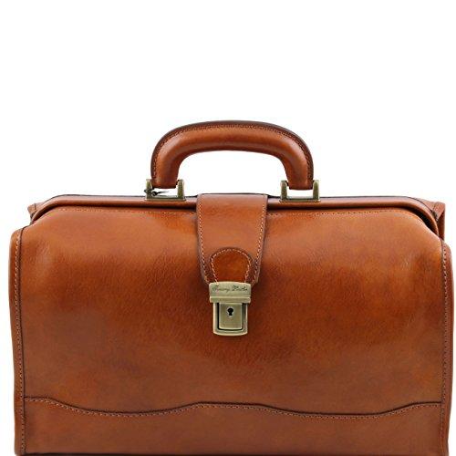Tuscany Leather Raffaello - Doctor leather bag Honey