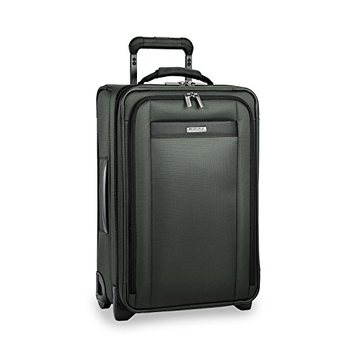 Briggs & Riley Nylon Carry On - Briggs & Riley Transcend Tall Carry-on Expandable Upright, Rainforest