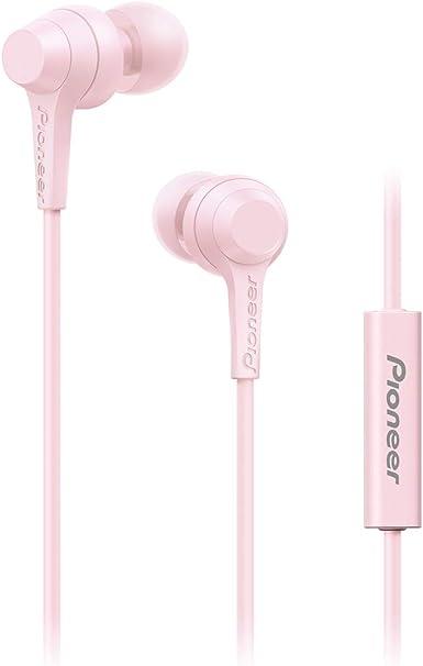 Pioneer C1 In Ear Kopfhörer Kabelgebunden Mit Inline Fernbedienung Freisprechfunktion Verwindungsfreies Kabel Kompakte Ohrhörer Hervorragende Klangqualität