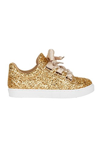 Hadari Womens Platform Hadari Wedge Sparkling Glitter Sparkling Womens Fashion Sneakers Glitter 4R1wdrUqR