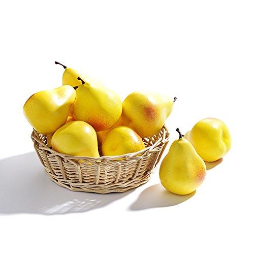 10Pcs Artificial Lifelike Simulation Lemon Set Fake Fruit for Home House Kitchen Party Decoration Pannow