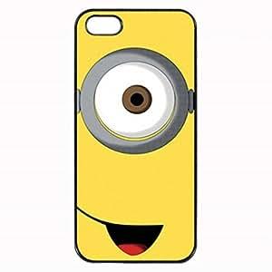 Minions Stuart Custom Diy Unique Image Durable Rubber Silicone Case for Iphone 4 4S Case