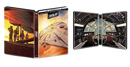 Solo: A Star Wars Story (STEELBOOK) (3D + Blu-ray + Bonus Disc) (3 Disc)