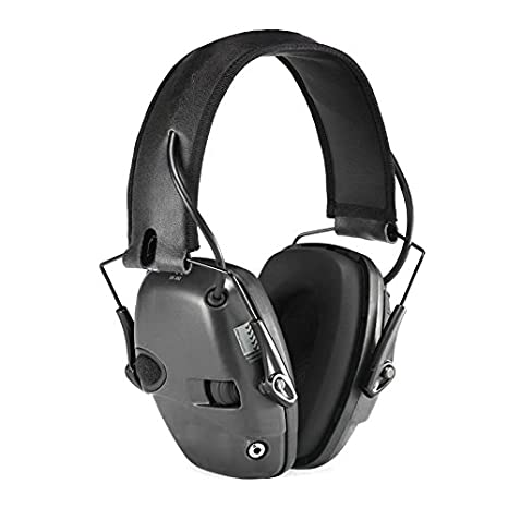 Crewell Tactical - Auriculares electrónicos plegables para deporte, tiro, caza: Amazon.es: Electrónica