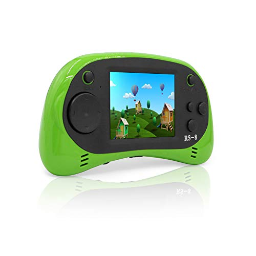 Hades USB Charging Handheld Game Console,Children's Retro TV Video Games Player Arcade Gaming System,Built-in 260 Old School Games, 2.5