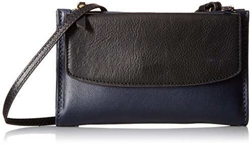 SAGE MINI BAG BLACK MULTI Wallet, BLACK W/MIDNIGHT NAVY, One Size by Fossil