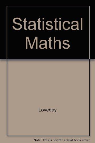Statistical Maths
