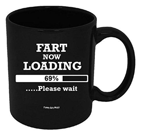 Funny Guy Mugs Fart Now Loading Please W