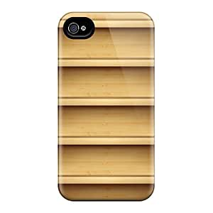 Premium Iphone 4/4s Case - Protective Skin - High Quality For Wood Shelves