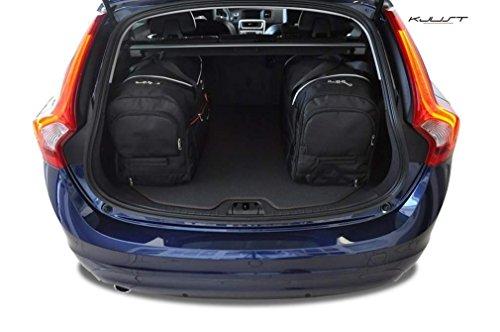 KJUST - CAR-BAGS AUTO-TASCHEN MASSTASCHEN ROLLENTASCHEN VOLVO V60, I, 2010-