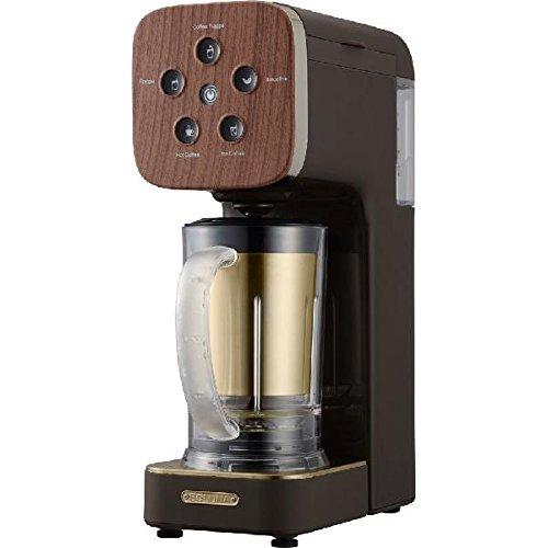 Doshisha Coffee Maker  Soluna Quattro Choice  Qcr 85B Dbr  Dark Wood  Japan Domestic Genuine Products