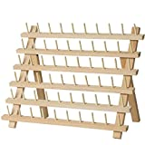 SAND MINE Wooden Thread Rack Sewing and Embroidery