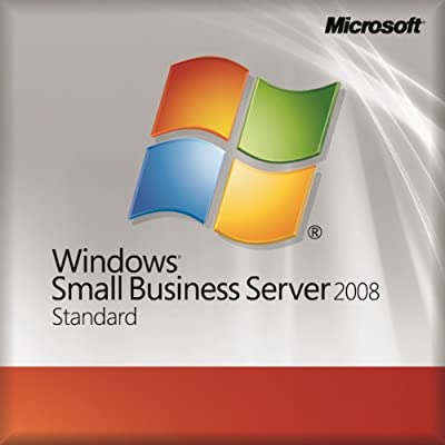 Microsoft Windows Small Business Server 2008 Standard Edition SP2 - OEM - 1-4Cpu 5Clt