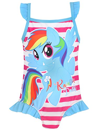 My Little Pony Girls' My Little Pony Swimsuit 3T