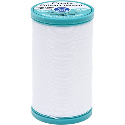 Coats Hand Quilting Thread - Coats Bold Hand Quilting Thread, 175-Yard, White