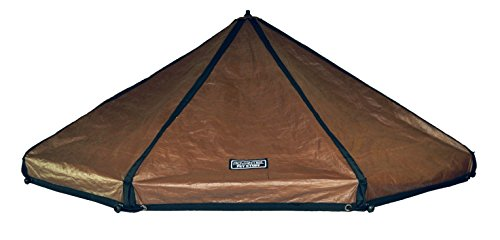 Advantek Original Pet Gazebo Replacement Cover - Brown/White Reversible, 8 ft (Large)