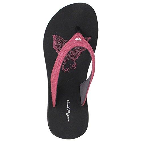 Signature Shoes 5 Pigeon Fuchsia Gold Comfort 5 8523 Size Women 9 Sandals GP 5Cgttw