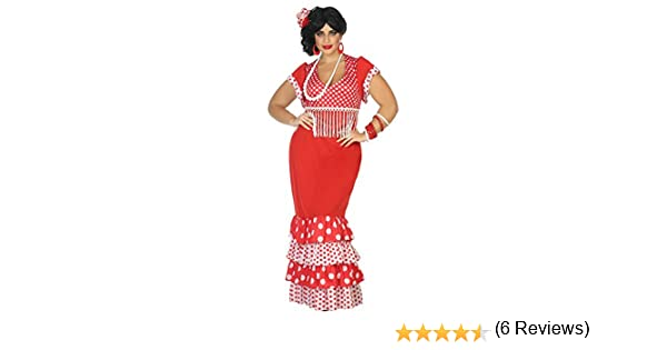 Atosa-39550 Disfraz Flamenca, XXL (39550): Amazon.es: Juguetes y ...
