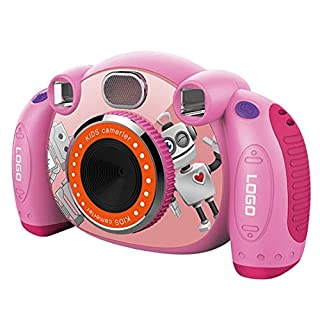 Hongbosheng 3 Million Pixels 2.0 inch HD Screen Digital Children Camera (Pink) (Color : Pink)