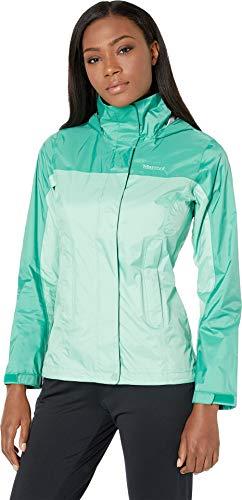 (Marmot Women WMS Precip Eco Jacket, Double Mint/Verde, X-Large)