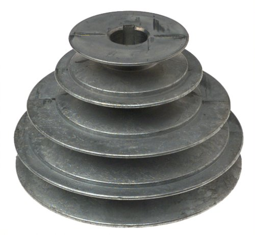 Belt Pulley (Chicago Die Casting 1416 V-groove 4-step Pulley, 5/8