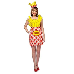 Adult Get Real Cheeseburger and French Fries Couples Costume u2013 Foodies  sc 1 st  Funtober & Adult Get Real Cheeseburger and French Fries Couples Costume ...