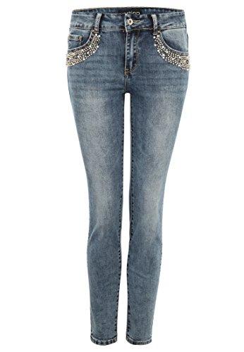 vestino - Jeans - Femme Bleu Denim