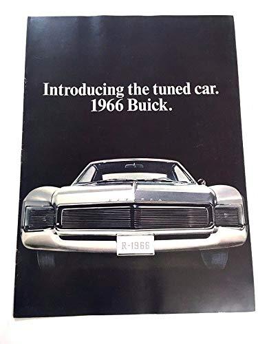 1966 Buick BIG Sales Brochure Catalog - Electra 225 Wildcat Riviera LeSabre Convertible Skylark