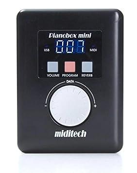 Miditech MIT-00162 Mini Pianobox - Controlador MIDI: Amazon.es: Instrumentos musicales