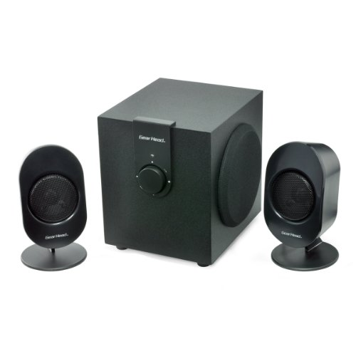Gear Head 2.1 Studio Speaker System (SP3500ACB) by Gear Head