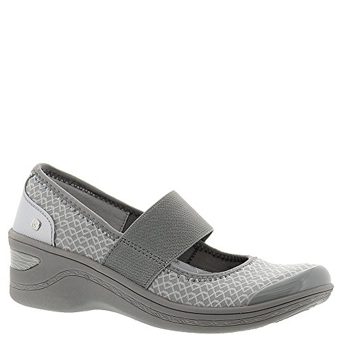BZees Women's Grey Triangle Mesh by Naturalizer Destiny 8 C US