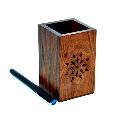 wood pen holder - 9