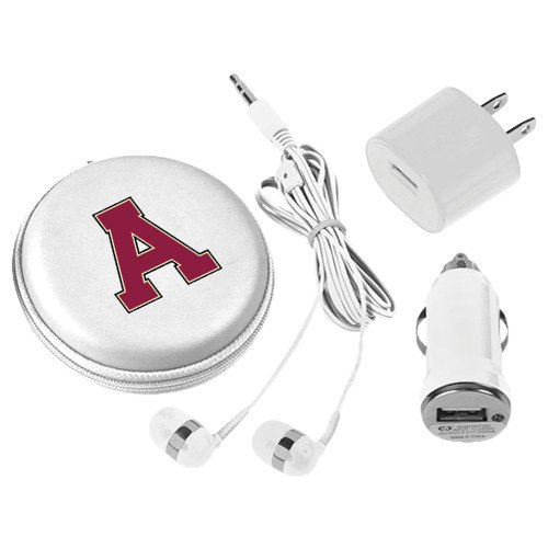 Alma College 3 in 1 White Audio Travel Kit 'Official Logo' by CollegeFanGear