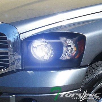 07 dodge ram headlight covers - 6