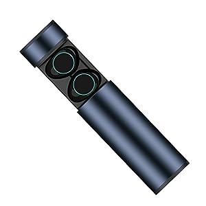 HolyHigh Auricolari Bluetooth Sport Wireless Cuffie Bluetooth Mini Stereo Cuffie  Wireless senza fili con Stazione di Ricarica e Microfono Incorporato 519cfdabe59e