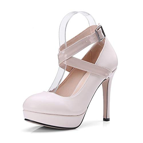 amp; Wine Polyurethane Summer Black Heel Women's Shoes Spring Stiletto Heels Comfort Black PU ZHZNVX Beige nXwgOYHx