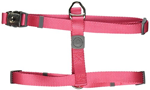 Petmate Signature Deluxe Harness, 3/4 by 20 to 28-Inch, Geranium