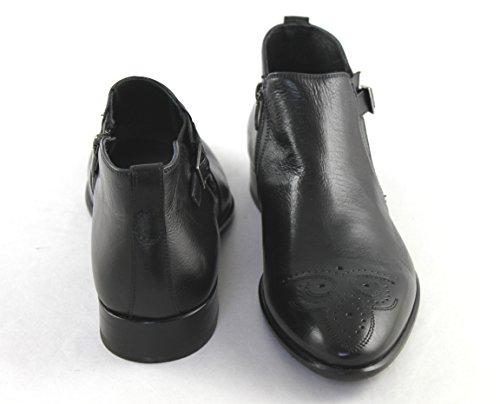 Mirage Schuhe Shoe Herren Stiefelette Kurzstiefeletten 7628 Schwarz