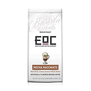 Eight O'Clock Coffee Barista Blends Ground Coffee, Mocha Macchiato, 11 Ounce