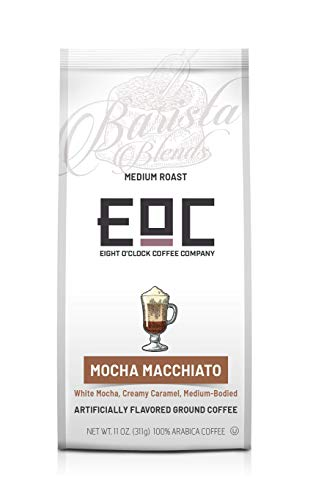 Eight O'Clock Coffee Barista Blends, Mocha Macchiato, 11 Ounce ()