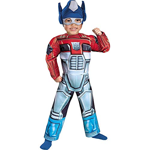 Optimus Prime Rescue Bot Muscle Kids Costume]()