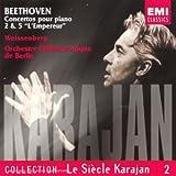 Concertos Pour Piano N 2 & 5 ''L'Empereur'' - Le Siecle Karajan Vol 2