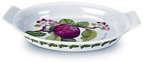 Portmeirion Pomona Earthenware 9-Inch Gratin Dish by Portmeirion