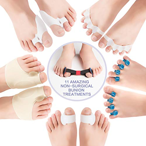 DR SelfCare-Orthopedic Hallux Valgus Bunion Corrector & Big Toe Relief for Women & Men | Gel Protector, Pain Treatment & Support | Tailor