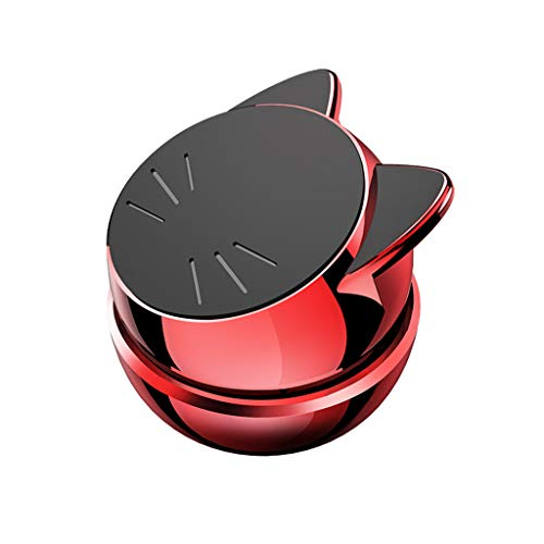 MChoice❤️Universal Cute Cat Car Magnetic GPS Mobile Phone Holder Bracket for iPhone X (Red)