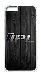 iPhone 6 Case Cover - Crystal Clear Transparent Plastic Bumper Case for iPhone 6 4.7inch With Cool Logo Design Photo Wood Infiniti Ipl