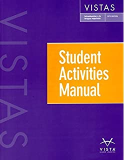 Vistas 5th ed student activities manual answer key answer key only vistas 5e student activities manual fandeluxe Gallery