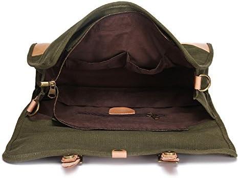 ブリーフケーストート 中年ユースに適したキャンバスのショルダーバッグメッセンジャーバッグトートバッグカジュアルバッグトラベルバッグブリーフケースビジネスバッグ ハンドバッグ