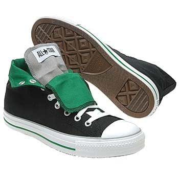 Converse men 39 s all star hi black forest 9 0 for Converse all star amazon