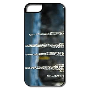 IPhone 5 5S Shell, Cold Afternoon Ice White/black Cover For IPhone 5S by icecream design